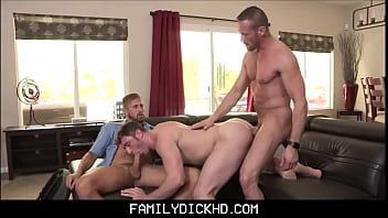 Boston toilet gay Young jock step son and his step dad threesome with mailman
