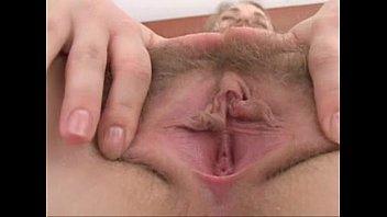 Hairy Russian girl masturbating. So sexy
