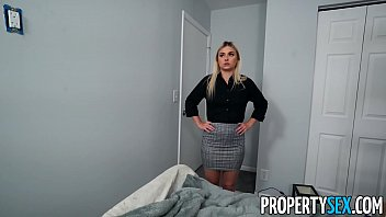 PropertySex Painter Bangs Cute Blonde Real Estate Agent 12 min