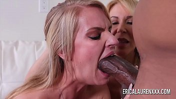 Erica Lauren and her stepdaughter share a BBC 12 min