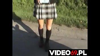 Polskie porno - Młodziutkie usta w akcji