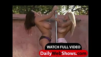 Venera and Leanne Crow play with them juicy boobs - DailyWebShows.com