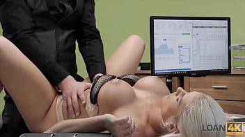 LOAN4K. Sensual business lady needs extra money from the local bank
