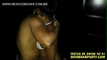 Brazilian young babe black teen at swing party in rio de janeiro fucking and sucking at gloryhole 11 min