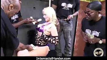 White Whore Screams in Pleasure from Huge Black Cock 15