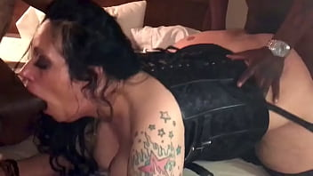 Hotwife BoomBoom talking it rough from 2 BBCs