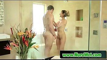 Hot masseuse with round tits offers nuru pleasure - Tony Martinez, Nadia Styles