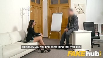Fake Agent Spunk loving tattooed Spanish babe Claudia Bavel in sex casting 8 min