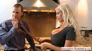 Hot busty Bridgette B. take cock porno izle