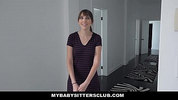 Mybabysittersclub - Dad Catches Babysitter (Nickey Huntsman) Webcamming