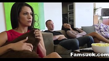 Fucked My Bro During Movie Night |FamSuck.com