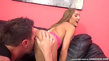 CHLOE AMOUR GETS AN ORAL CREAMPIE