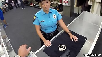 Ms. Police Officer Wants To Pawn Her Weapon - XXX Pawn
