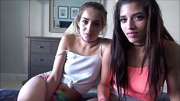 Latina Teens Fuck Landlord to Pay Rent - Sofie Reyez & Gia Valentina - Preview porno izle