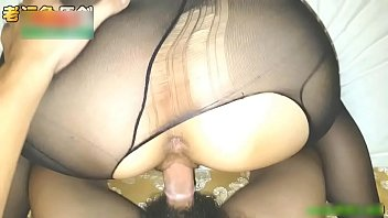 Black Stockings Big Chest lewd sister, passion lap dance seduce lover, active female superior dry, orgasm constantly