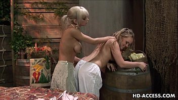 Hottest lesbian blonde action that you will see 6 min