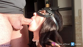 My Maid is so good that she cleans my cock too