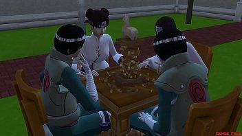 El Equipo 9 Tiene Nuevo Entrenamiento Tenten Follada Gangbang Naruto Hentai