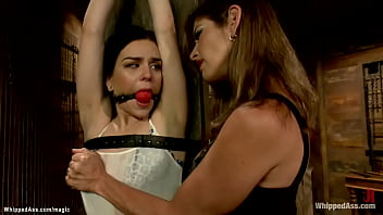 Lesbian Slave Fucked And Spanked
