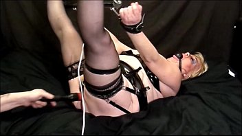 Bondage / gagged - Pvc lingerie. wendysbondageworld.com