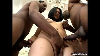 Natasha Nice showing her body is nice to a group of BBCs DP Clip