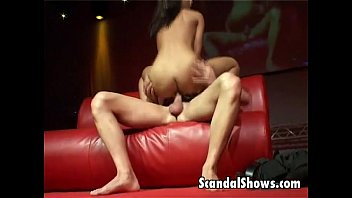 Breast cancer survivor events Brunette striper gets nailed hard