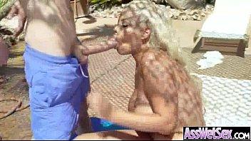 Big Butt Oiled Girl (bridgette b) Get Anal Hardcore Sex On Camera movie-09 video