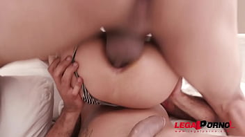 Polly Petrova gets her first triple anal (TAP) with DP, DAP & Triple Penetration YE040