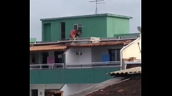 Caught in the favela.