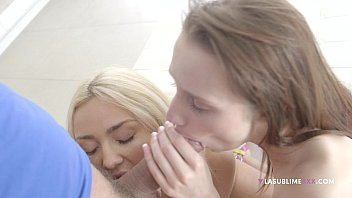 LaSublimeXXX Casting with two hot teens Victoria Puppy & Chelsey Sun thumbnail