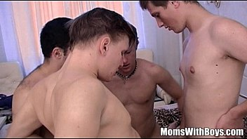 Photos sex boys family - Stepmama anal dp gangbang son and friends