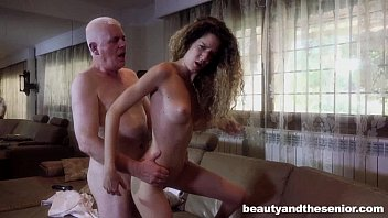 Teen Monique fuck old Nick
