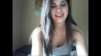 Brunette Elisabeth Fingering For Friend On Webcam - livesologirls.com