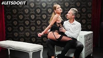 XCHIMERA - Tiffany Tatum and Lutro - Sexy Teasing Teen Dominates Daddy And Fucks With Him
