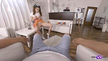 TmwVRnet.com - Alita Angel - Lollipop and dick in gentle hands 7 min
