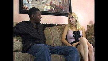 Sexy blonde with a nice rack banged by a black cock