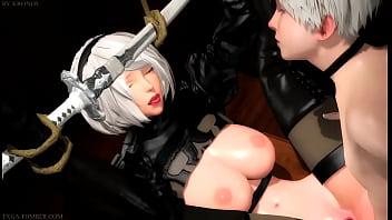 2B Bondage Play