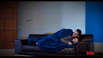 Sister Takes Advantage Of Brothers Sleep Boner
