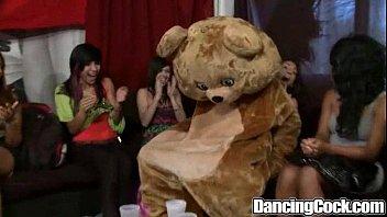 Dancingcock Huge Cock Blowjob Party
