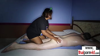 Exotic Thai Massage Ends In Chubby Amateur Teens Ja Asian Pussy