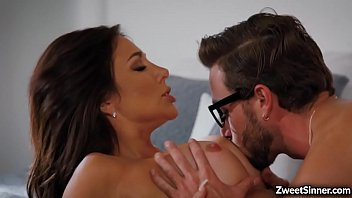 Jaclyn Taylor is a busty MILF that loves having sex with her hot stepson Lucas Frost.