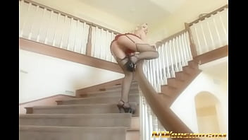 hot  interracial  anal fuck with blond slut