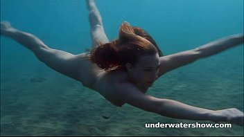 Adult swim on cartoonnetwork Julia is swimming underwater nude in the sea