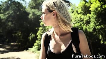 Pulled 18yo babe spitroasted by strangers 6 min