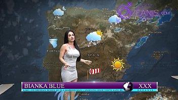 Follandose La Chica De Clima En Vivo Kevin White Y Bianka Blue