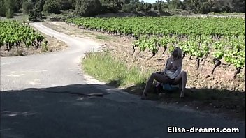 Flashing and Masturbation on a small road