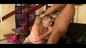 Hey My Grandma Is A Whore #17 - Grandmother seduces a young grandson