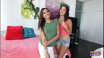 PervCity Double Sloppy Blowjob Sara Luvv and Daisy Haze 11 min