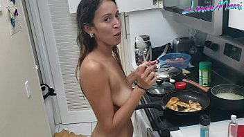 Husband Fuck His Wife While Cooking