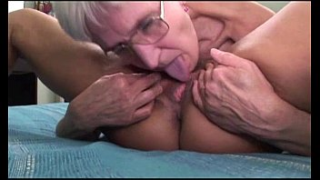 Older women eating dick - Lesbian grannies having fun